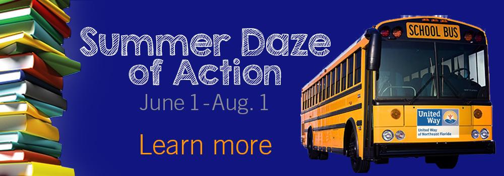 Summer Daze webite slider